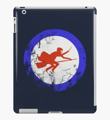 Ministry of Magic Air Force Insignia UK distressed iPad Case/Skin
