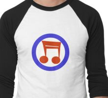 Music Mod Men's Baseball ¾ T-Shirt