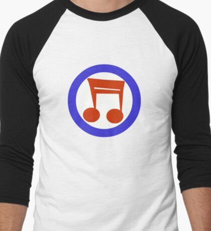 Music Mod Men's Baseball ¾ T-Shirt