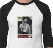 Donny Donowitz Ball Card Men's Baseball ¾ T-Shirt