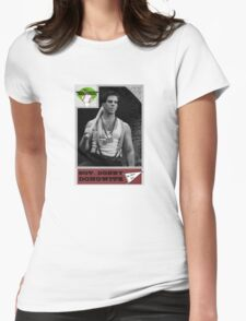 Donny Donowitz Ball Card Womens Fitted T-Shirt