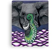 Elephus with the Best of Us Canvas Print