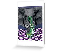 Elephus with the Best of Us Greeting Card