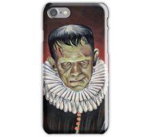 Renaissance Victorian Portrait - Frankenstein iPhone Case/Skin