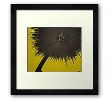 Dark Lion Framed Print