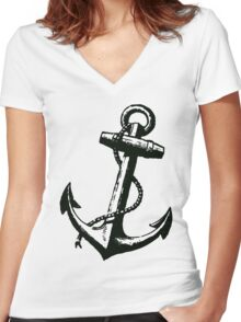 Dead Weight Women's Fitted V-Neck T-Shirt