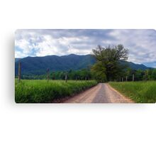 Cade's Cove~Great Smoky Mountains National Park Canvas Print