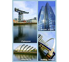 Glasgow Sights ~ Top 10 Challenge Winner in The World As We See It or as we missed it. Photographic Print