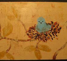 Baby Wren by Beckyswann