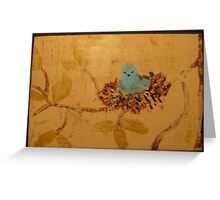 Baby Wren Greeting Card