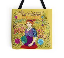 Malorie the Half Woman of France Tote Bag
