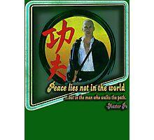 Kung Fu vintage 'aged' version Photographic Print