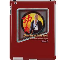 Kung Fu vintage 'aged' version iPad Case/Skin