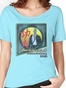 Kung Fu vintage 'aged' version Women's Relaxed Fit T-Shirt