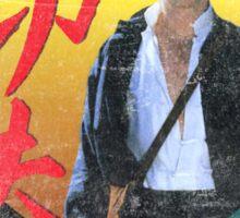 Kung Fu vintage 'aged' version Sticker