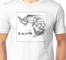 Birds Fly Up and Away Unisex T-Shirt