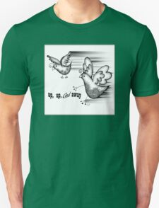 Birds Fly Up and Away T-Shirt