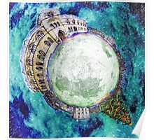 Christmas at the Natural History Museum Oxford - Planet Poster