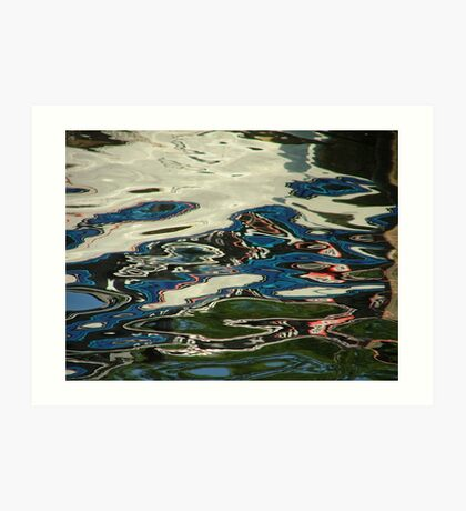 Reflections in Water Art Print