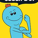 Meeseeks can do (sticker) by Vitaliy Klimenko