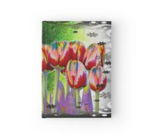 Tulip a la Lumia Hardcover Journal