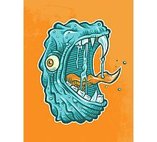 C is for Chompzilla Photographic Print
