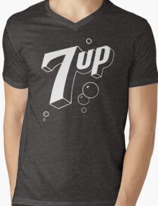 7 UP 10 Mens V-Neck T-Shirt