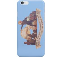 BioShock Infinite – The Prophet Leads His People Out of the Sodom Below iPhone Case/Skin