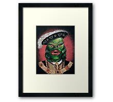 Renaissance Creature From The Black Lagoon Framed Print