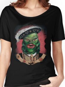 Renaissance Victorian Portrait - Creature from the Black Lagoon Women's Relaxed Fit T-Shirt