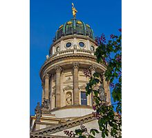 Germany. Berlin. French Dome. Tower. Photographic Print