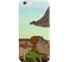Mesozoic Procession iPhone Case/Skin