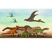 Mesozoic Procession Photographic Print