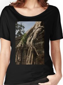 Ta Prohm Banyon Tree Roots Women's Relaxed Fit T-Shirt