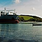 River Fal Panoramic by Simon Marsden