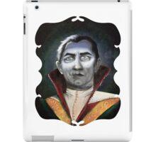 Renaissance Victorian Portrait - Dracula iPad Case/Skin