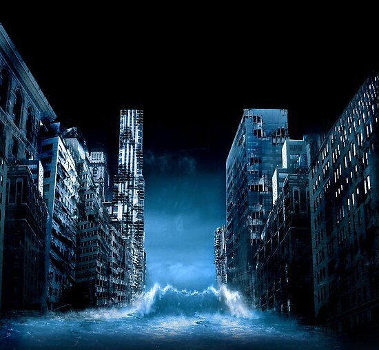 Flooded City by Jeff Ballance