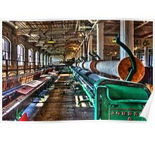Mission Mill Spinning Room Poster