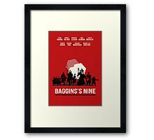 The Nine Framed Print