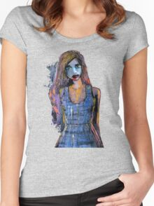 JT 001 Women's Fitted Scoop T-Shirt