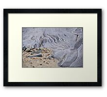 Beach Geology Framed Print