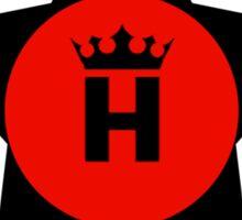 Original Red Hoss Circle Crown Sticker