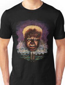 Renaissance Victorian Portrait - Wolfman Unisex T-Shirt