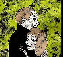 Gwynplaine & Dea by Allie Hartley  by Allie Hartley