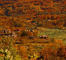 North Carolina Mountains in the Valley by GentzPhotos