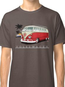 Red & White 11 Window Classic T-Shirt