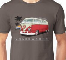 Red & White 11 Window Unisex T-Shirt