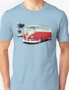 Red & White 11 Window T-Shirt