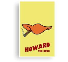 Howard the duck Canvas Print