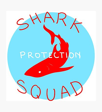 SHARK PROTECTION SQUAD Photographic Print